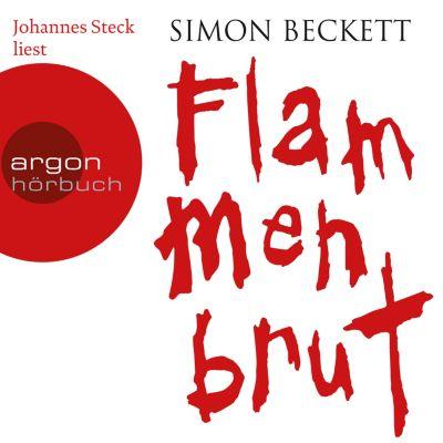 Flammenbrut, 6 Audio-CDs, Simon Beckett
