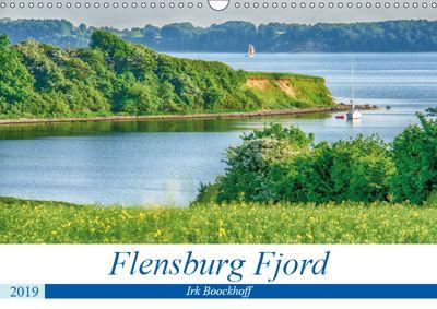 Flensburg Fjord (Wandkalender 2019 DIN A3 quer), Irk Boockhoff