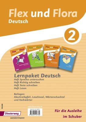 Flex und Flora - Deutsch, Ausgabe für Rheinland-Pfalz: Lernpaket Deutsch 2: 4 Themenhefte (für die Ausleihe)