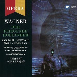 Fliegender Holländer (Ga-De), Dam, Hofmann, Karajan, Bp