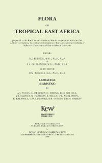 Flora of Tropical East Africa: Flora of Tropical East Africa