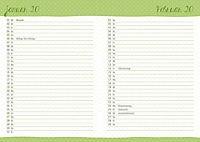 Floral 17-Monats-Kalenderbuch A5 2019 - Produktdetailbild 6