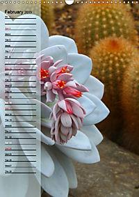 Floral Beauties in the Glasshouse (Wall Calendar 2019 DIN A3 Portrait) - Produktdetailbild 2