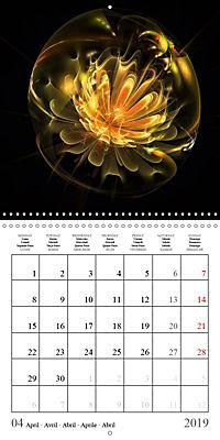 Floral bubbles (Wall Calendar 2019 300 × 300 mm Square) - Produktdetailbild 4
