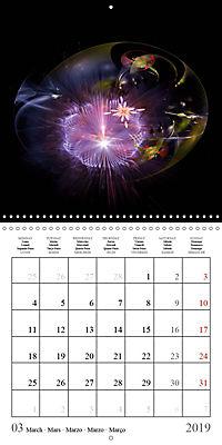Floral bubbles (Wall Calendar 2019 300 × 300 mm Square) - Produktdetailbild 3