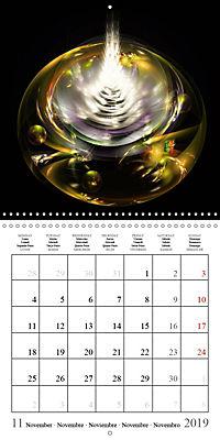 Floral bubbles (Wall Calendar 2019 300 × 300 mm Square) - Produktdetailbild 11