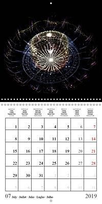 Floral bubbles (Wall Calendar 2019 300 × 300 mm Square) - Produktdetailbild 7