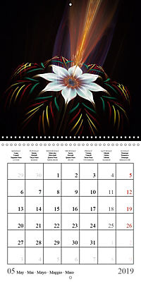 Floral bubbles (Wall Calendar 2019 300 × 300 mm Square) - Produktdetailbild 5