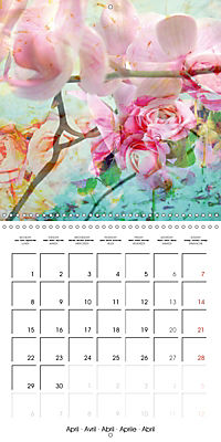 Floral Emotion (Wall Calendar 2019 300 × 300 mm Square) - Produktdetailbild 4