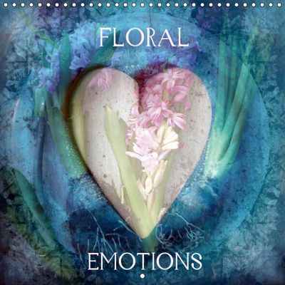 Floral Emotion (Wall Calendar 2019 300 × 300 mm Square), Alaya Gadeh