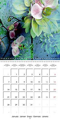 Floral Emotion (Wall Calendar 2019 300 × 300 mm Square) - Produktdetailbild 1