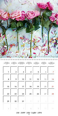 Floral Emotion (Wall Calendar 2019 300 × 300 mm Square) - Produktdetailbild 7