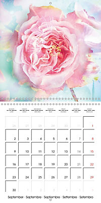 Floral Emotion (Wall Calendar 2019 300 × 300 mm Square) - Produktdetailbild 9