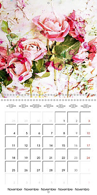 Floral Emotion (Wall Calendar 2019 300 × 300 mm Square) - Produktdetailbild 11