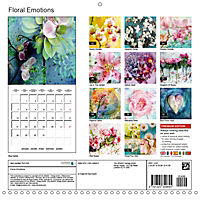 Floral Emotion (Wall Calendar 2019 300 × 300 mm Square) - Produktdetailbild 13