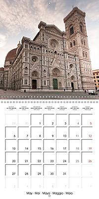 Florence City of Art (Wall Calendar 2019 300 × 300 mm Square) - Produktdetailbild 5