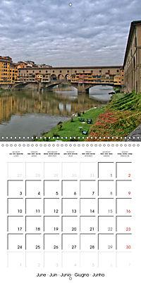 Florence City of Art (Wall Calendar 2019 300 × 300 mm Square) - Produktdetailbild 6