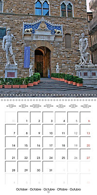 Florence City of Art (Wall Calendar 2019 300 × 300 mm Square) - Produktdetailbild 10