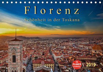 Florenz - Schönheit in der Toskana (Tischkalender 2019 DIN A5 quer), Peter Roder