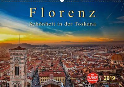 Florenz - Schönheit in der Toskana (Wandkalender 2019 DIN A2 quer), Peter Roder