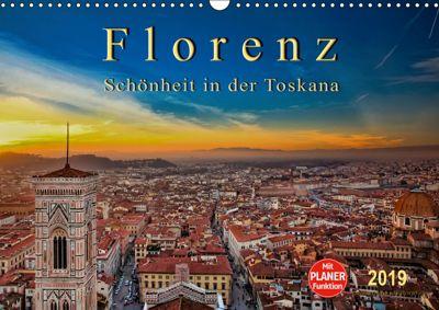 Florenz - Schönheit in der Toskana (Wandkalender 2019 DIN A3 quer), Peter Roder