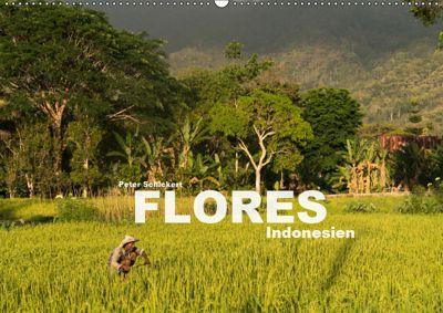 Flores - Indonesien (Wandkalender 2019 DIN A2 quer), Peter Schickert