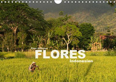 Flores - Indonesien (Wandkalender 2019 DIN A4 quer), Peter Schickert