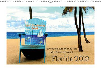 Florida 2019 abwechslungsreich und von der Sonne verwöhnt (Wandkalender 2019 DIN A3 quer), Thorsten Kubisch