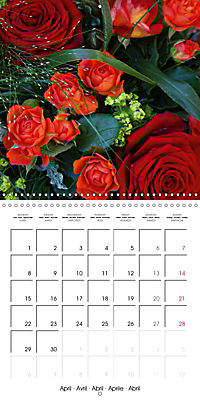 Flower Bouquet (Wall Calendar 2019 300 × 300 mm Square) - Produktdetailbild 4