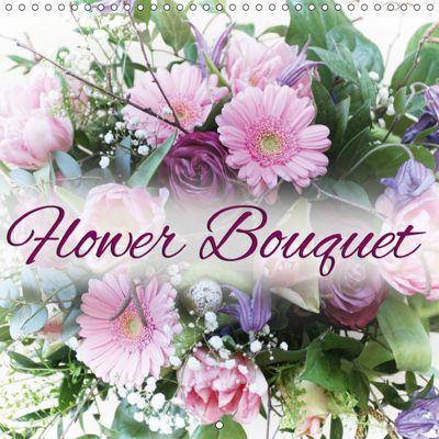 Flower Bouquet (Wall Calendar 2019 300 × 300 mm Square), Martina Cross
