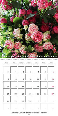 Flower Bouquet (Wall Calendar 2019 300 × 300 mm Square) - Produktdetailbild 1
