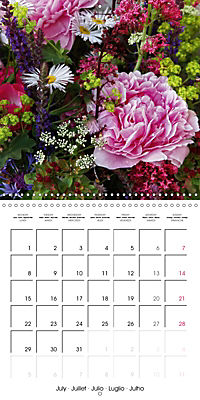 Flower Bouquet (Wall Calendar 2019 300 × 300 mm Square) - Produktdetailbild 7