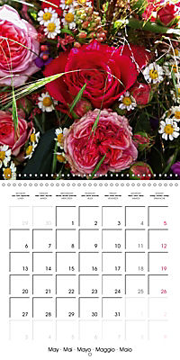 Flower Bouquet (Wall Calendar 2019 300 × 300 mm Square) - Produktdetailbild 5