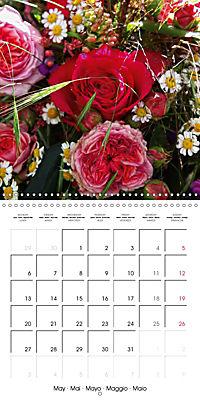 Flower Bouquet (Wall Calendar 2019 300 × 300 mm Square) - Produktdetailbild 5