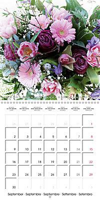 Flower Bouquet (Wall Calendar 2019 300 × 300 mm Square) - Produktdetailbild 9