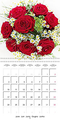 Flower Bouquet (Wall Calendar 2019 300 × 300 mm Square) - Produktdetailbild 6