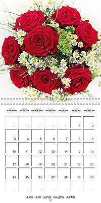 Flower Bouquet (Wall Calendar 2019 300 × 300 mm Square) - Produktdetailbild 6