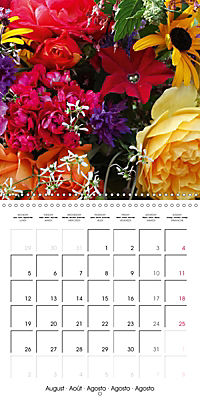 Flower Bouquet (Wall Calendar 2019 300 × 300 mm Square) - Produktdetailbild 8
