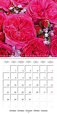 Flower Bouquet (Wall Calendar 2019 300 × 300 mm Square) - Produktdetailbild 10