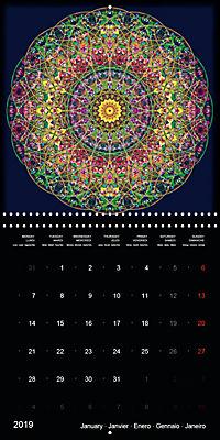 Flower Energy Mandalas (Wall Calendar 2019 300 × 300 mm Square) - Produktdetailbild 1