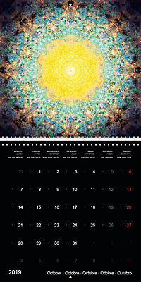 Flower Energy Mandalas (Wall Calendar 2019 300 × 300 mm Square) - Produktdetailbild 10