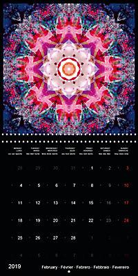 Flower Energy Mandalas (Wall Calendar 2019 300 × 300 mm Square) - Produktdetailbild 2