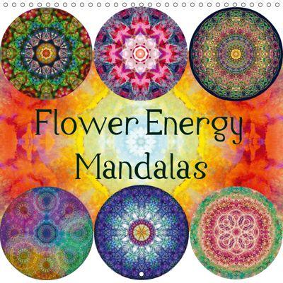 Flower Energy Mandalas (Wall Calendar 2019 300 × 300 mm Square), N N