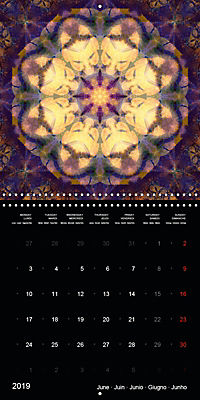 Flower Energy Mandalas (Wall Calendar 2019 300 × 300 mm Square) - Produktdetailbild 6