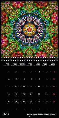 Flower Energy Mandalas (Wall Calendar 2019 300 × 300 mm Square) - Produktdetailbild 3