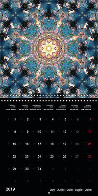 Flower Energy Mandalas (Wall Calendar 2019 300 × 300 mm Square) - Produktdetailbild 7