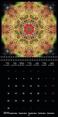 Flower Energy Mandalas (Wall Calendar 2019 300 × 300 mm Square) - Produktdetailbild 9