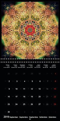 Flower Energy Mandalas (Wall Calendar 2019 300 × 300 mm Square) - Produktdetailbild 9