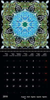 Flower Energy Mandalas (Wall Calendar 2019 300 × 300 mm Square) - Produktdetailbild 8