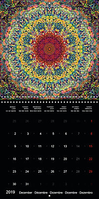 Flower Energy Mandalas (Wall Calendar 2019 300 × 300 mm Square) - Produktdetailbild 12